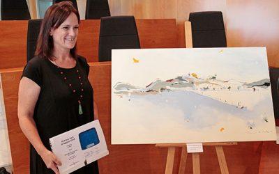 "Diana Bustamante, Premio de pintura ""Vuit d'Agost"" | 2019"